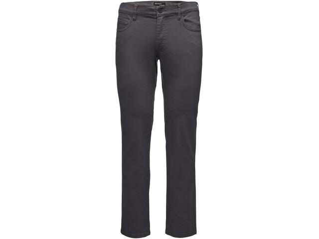 Black Diamond Stretch Font Pantalones Hombre, anthracite